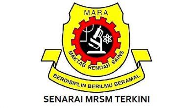 SENARAI MRSM