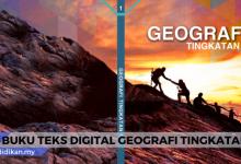 buku teks digital geografi tingkatan 1