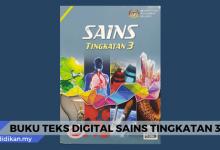 buku teks digital sains tingkatan 3