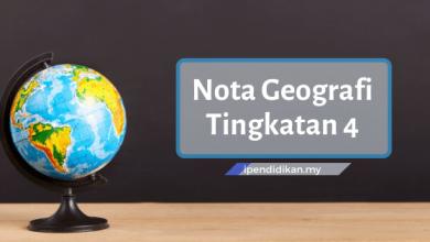 nota geografi tingkatan 4