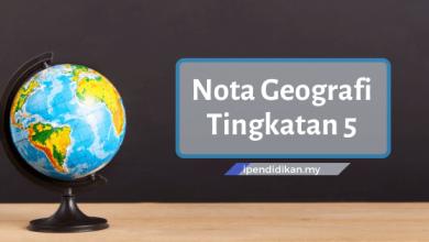 nota geografi tingkatan 5