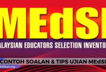 ujian medsi tips dan soalan contoh