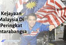 contoh karangan kejayaan malaysia di peringkat antarabangsa