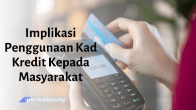 contoh karangan implikasi penggunaan kad kredit kepada masyarakat