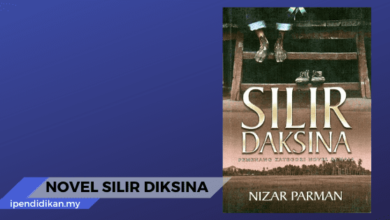 novel silir daksina sinopsis tema persoalan nilai pengajaran