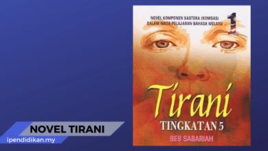 novel tirani tema persoalan sinopsis nilai pengajaran