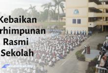 contoh karanagn kebaikan kepentingan perhimpunan rasmi sekolah