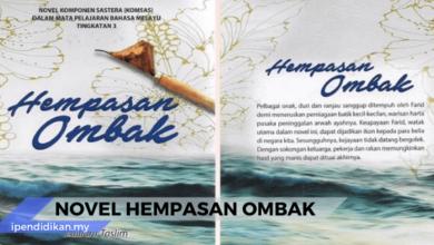 Nota novel hempasan ombak