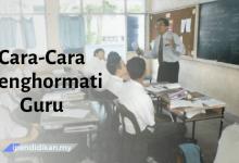 contoh karangan cara cara menghormati guru
