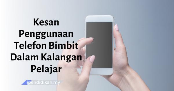 contoh karangan kesan penggunaan telefon bimbit dalam kalangan pelajar