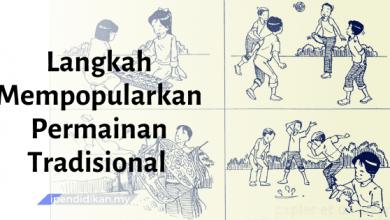 contoh karangan langkah mempopularkan permainan tradisional