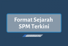 format kertas sejarah SPM terkini