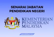 jabatan pendidikan negeri