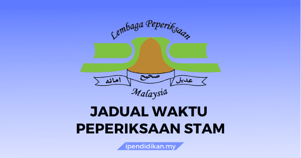 jadual waktu stam sijil tinggi agama malaysia