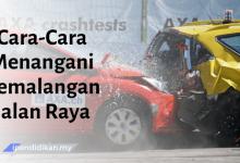 karangan cara menangani kemalangan jalan raya