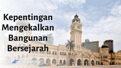 karangan kepentingan mengekalkan bangunan bersejarah