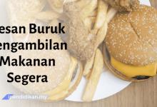 karangan kesan buruk pengambilan makanan segera