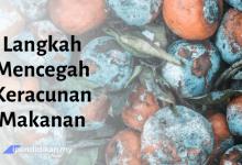 karangan langkah keracunan makanan