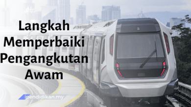 karangan langkah memperbaiki pengangkutan awam