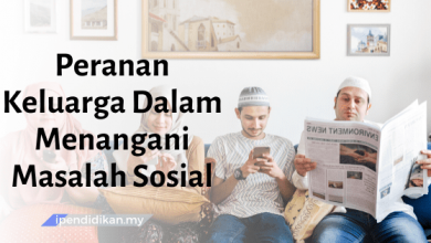 karangan peranan keluarga dalam menangani masalah sosial