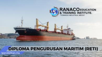 permohonan diploma pengurusan maritim reti