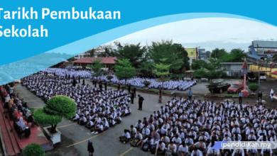 tarikh rasmi pembukaan sekolah
